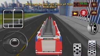911 Fire Truck Rescue Sim 16 - Gameplay Video