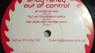 Download Mp3 Andy Farley - Out Of Control  12 Inch Tumpers Remix   Hd   Vcr002b1