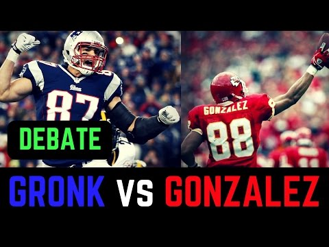 Rob Gronkowski vs Tony Gonzalez Debate | Who is The Greatest Tight End in NFL History?