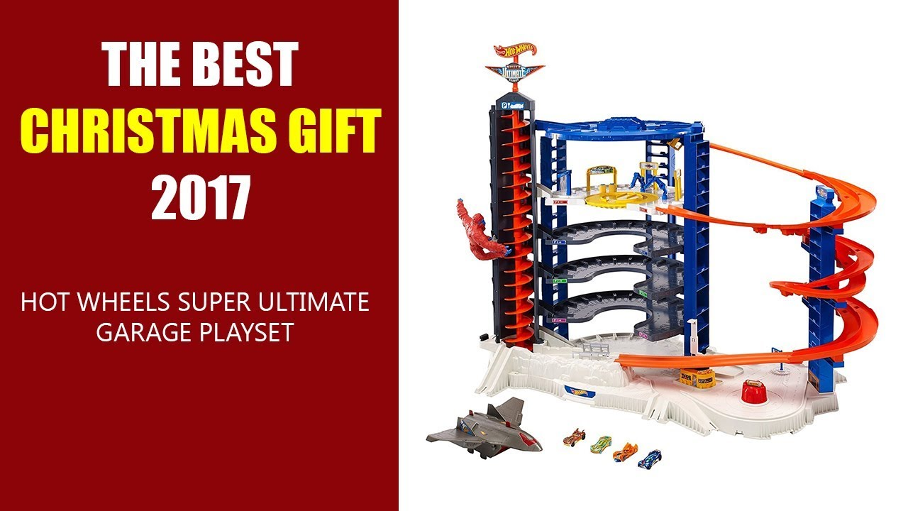 the best christmas gift 2017 hot wheels super ultimate garage playset