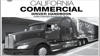 dmv cdl hand book audio calif 2017 part 1 2 1 5