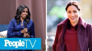 Michelle Obama Shares The Advice She'd Give Meghan Markle | PeopleTV