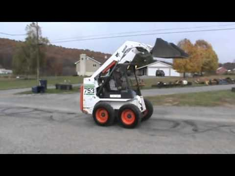 2003 Bobcat 753 G Series Skid Steer Loader Kubota Diesel For Sale