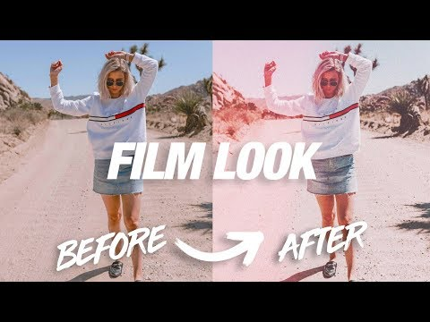 MAKE ANY PHOTO LOOK LIKE FILM INSTANTLY!   Photoshop Tutorial / How to Retro Film Style