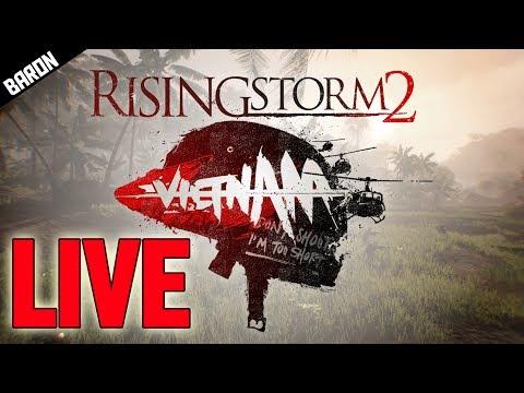 Rising Storm 2 Vietnam Open Beta Gameplay! LIVE