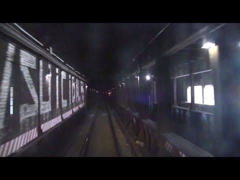 ᴴᴰ NYC Subway Train Operator's Point of View - The Queens-Bound R Line