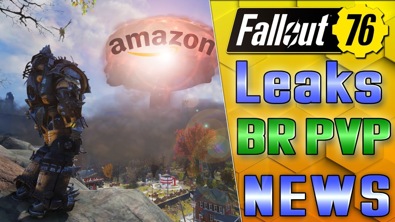 FALLOUT BR/PVP SHOOTING UPDATES & AMAZON LEAKS NEW GAMES