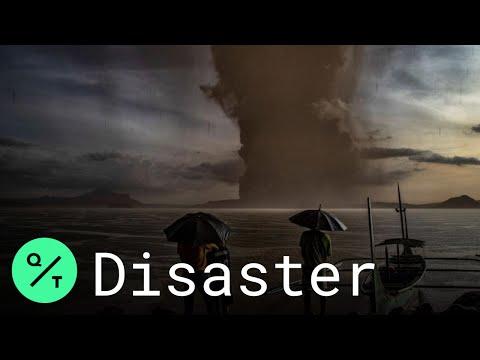 Taal Volcano Eruption: