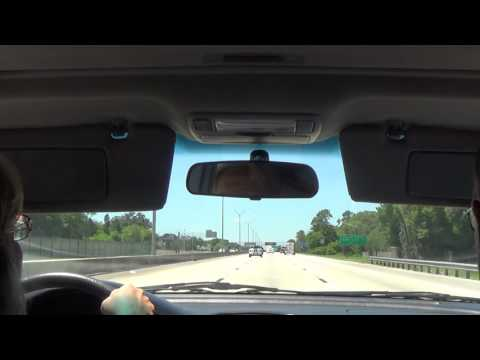 Driving on Interstate 275 S (Wesley Chapel, FL to St. Petersburg-Clearwater International Airport)
