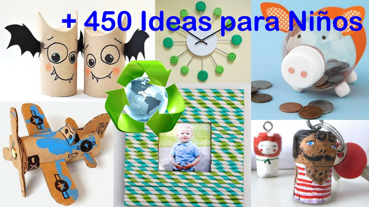 Reciclado para ni os ideas recycling for kids ideas - Ideas fotos ninos ...
