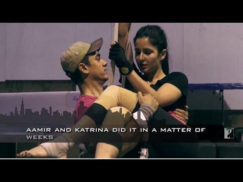 Dhoom 3 Malang Kamera Arkası | Aamir Khan | Katrina Kaif