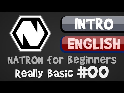 Natron for Beginners - Intro / Overview (Really Basic #00)