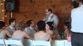 Father of the Bride Speech-Wayne Breitbarth (July 2011)