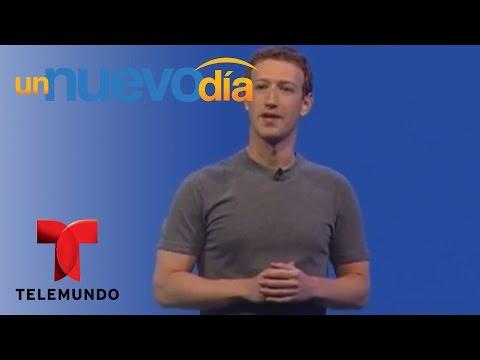 El creador de Facebook se enfrenta a Donald Trump   Un Nuevo Día   Telemundo