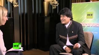 Эксклюзивное интервью. Эво Моралес