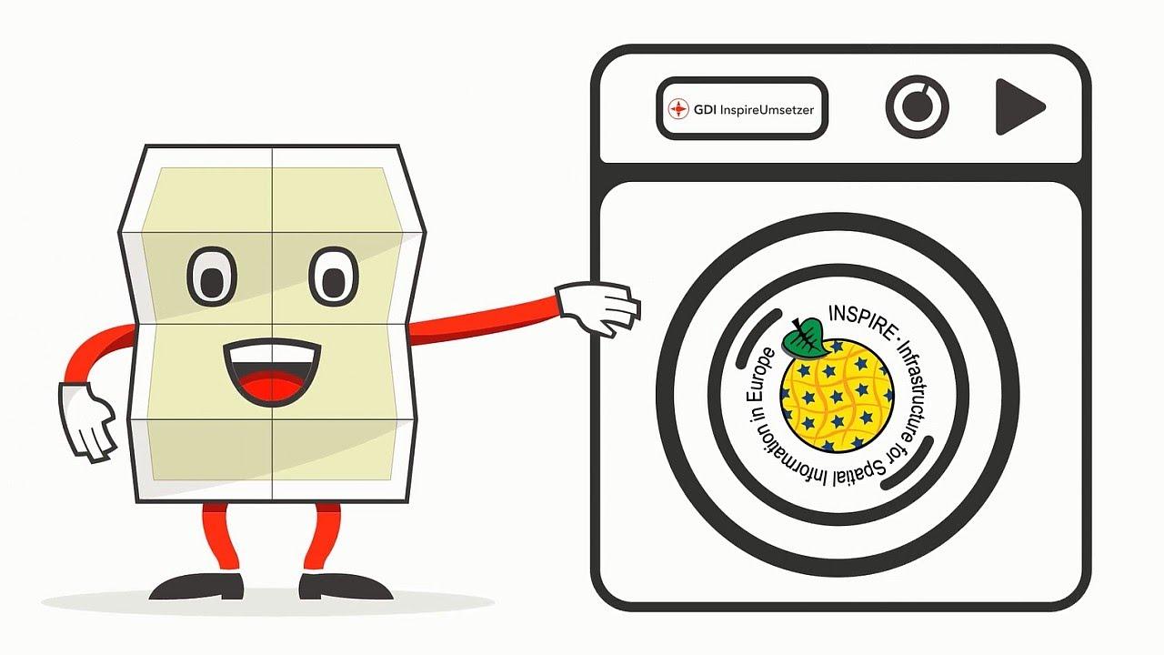 Waschmaschine clipart  GDI InspireUmsetzer - Die Geodaten-