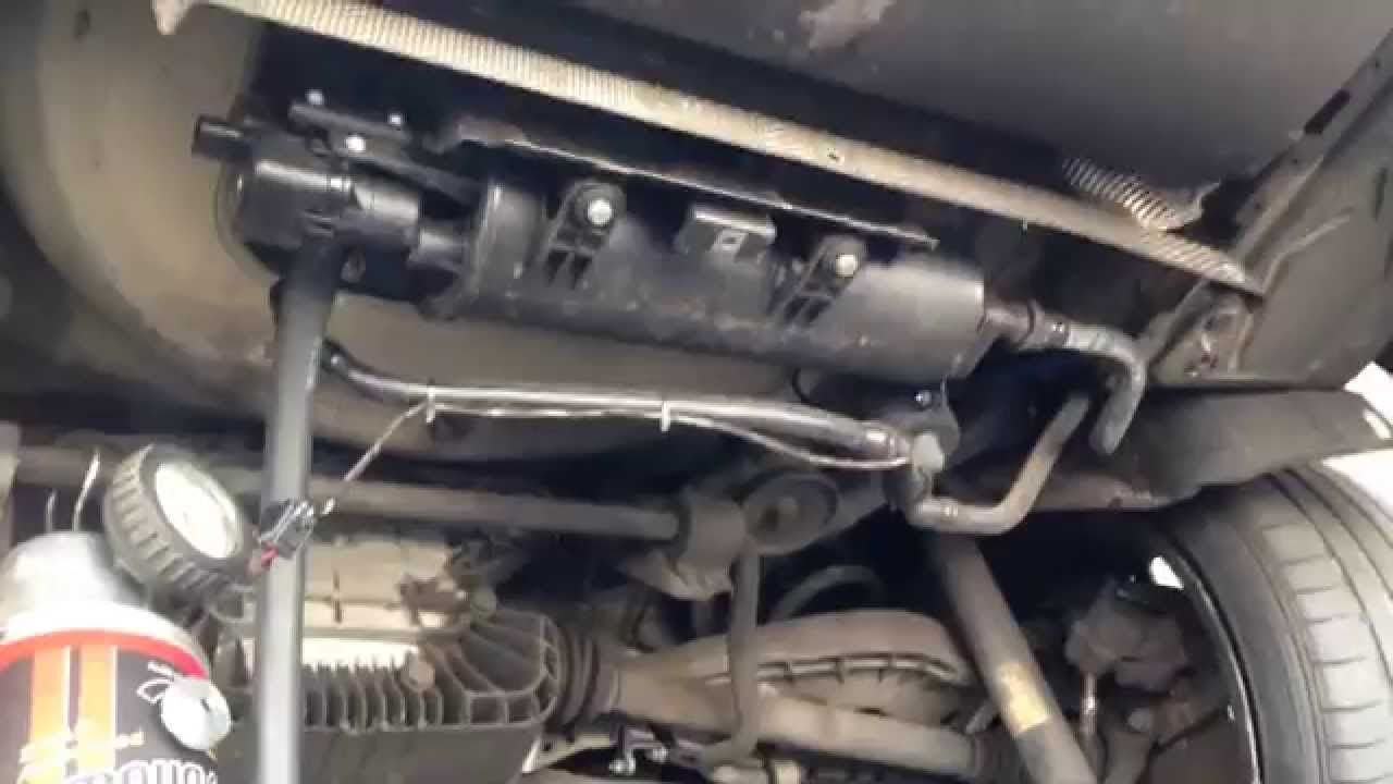 Bmw Evap Leak P0456 Youtube