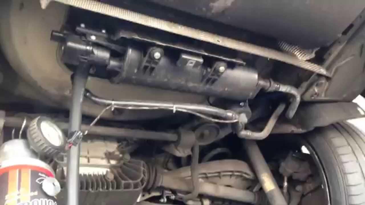 BMW Evap Leak  P0456  YouTube