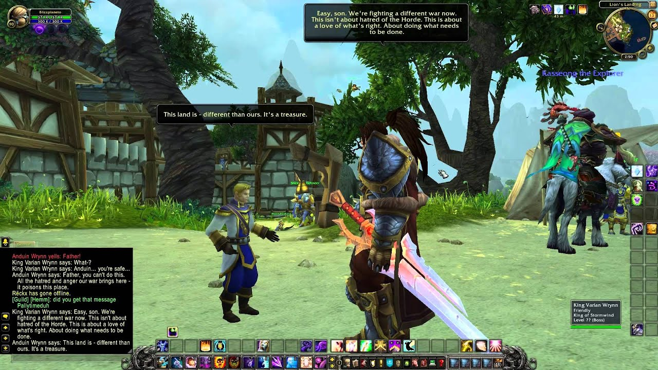 De-subjugation world of warcraft: mists of pandaria patch 5. 1.