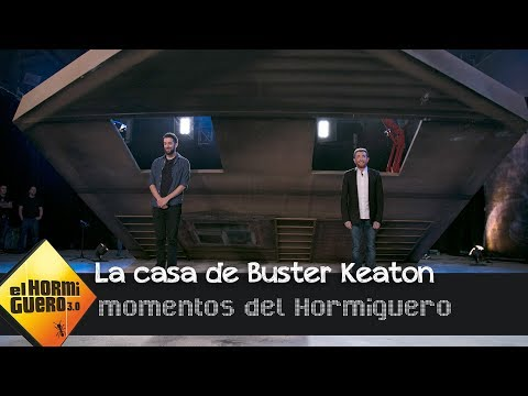 David Broncano se enfrenta a la prueba de la casa de Buster Keaton - El Hormiguero 3.0