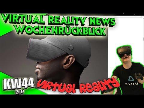 Virtual Reality News (Wochenrückblick KW44) [VR Games][VR Hardware][Vive][Rift][Pimax][WMR][PSVR]