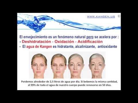 Presentación del agua Kangen en Colombia