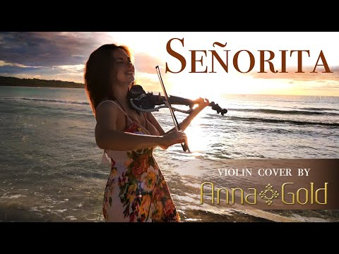 #Señorita - Shawn Mendes, Camila Cabello - Violin Cover by Anna Gold 🌴 SUMMER HIT 2019