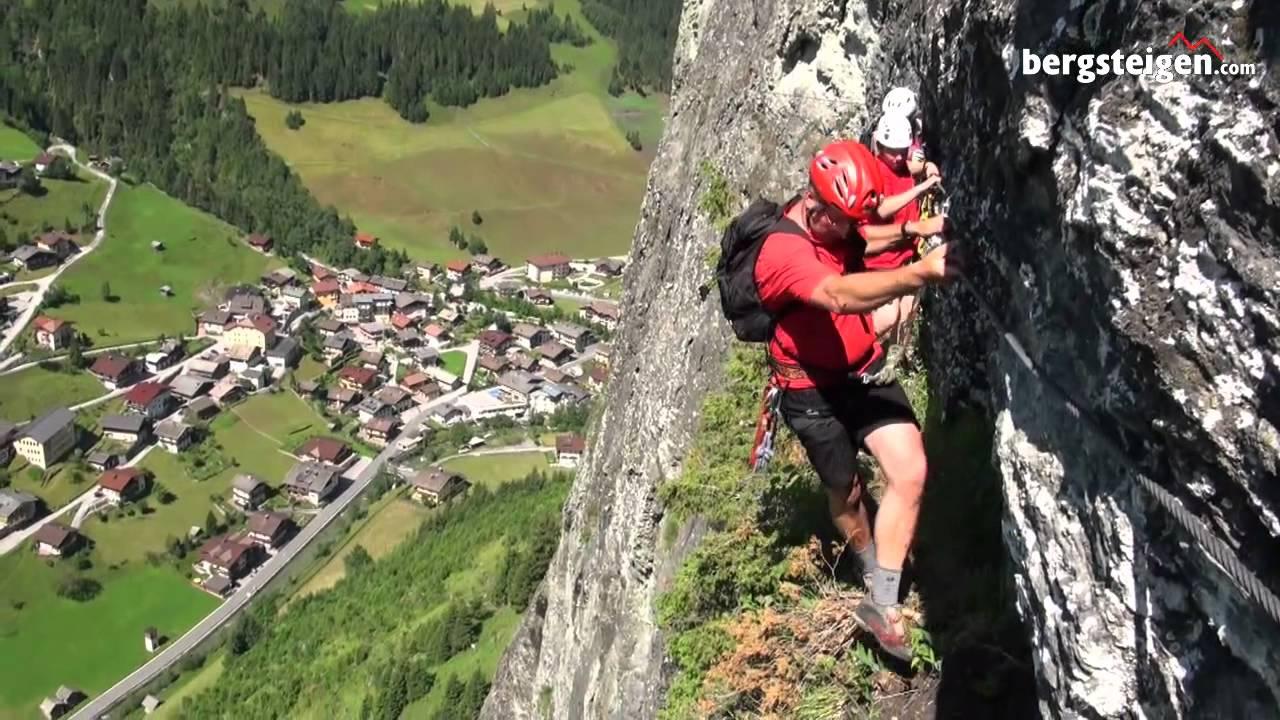 Klettersteig Rating : Franzl klettersteig in hüttschlag youtube
