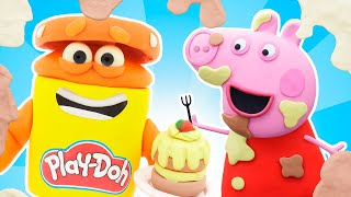 Play Doh Videos | Peppa Pig Playing Pranks 🐷  Stop Motion | The Play-Doh Show