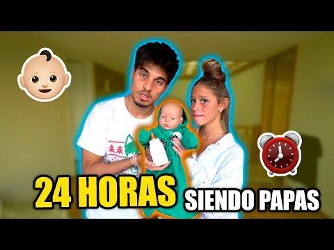 24 HORAS SIENDO PAPAS (no Pudimos Dormir)