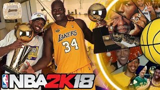 NBA 2K WHEEL OF RINGS! NBA CHAMPIONS!