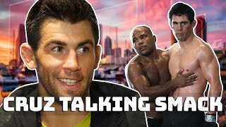 Dominick Cruz getting under peoples skin for 3 minutes..