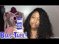 Bias tape tutorial !