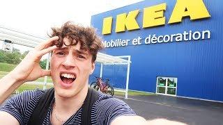 RESTER 24H DANS IKEA !!