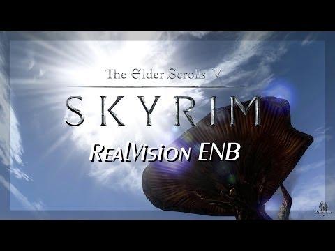 TES Skyrim - Next Gen Graphics #2 - RealVision ENB [ PC | HD+ ]