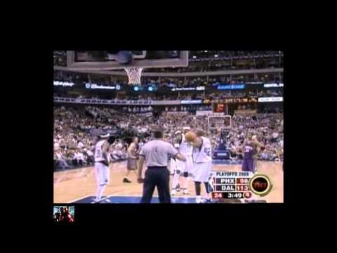 2005 NBA Playoffs WCSF Gm4 Suns Vs Mavericks { 6 & FINAL Part}