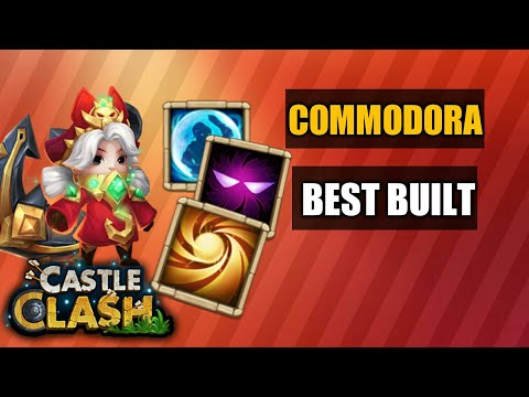 Castle Clash | Commodora Best Setup
