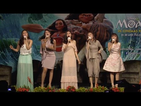 "Disney 365 | Southeast Asian Singers Behind ""How Far I'll Go"" (from Moana OST) - Disney Channel Asia"