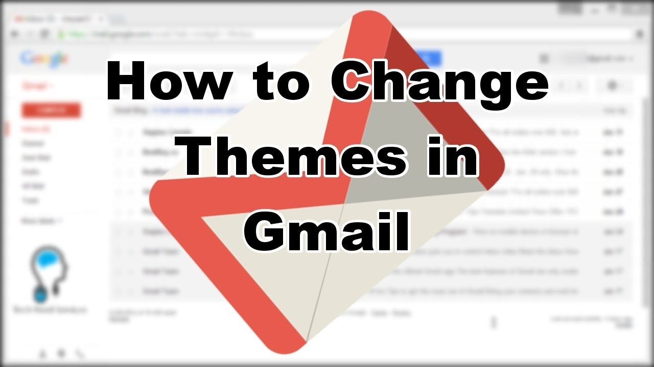 Gmail theme font - How To Change Gmail Theme Background 2016