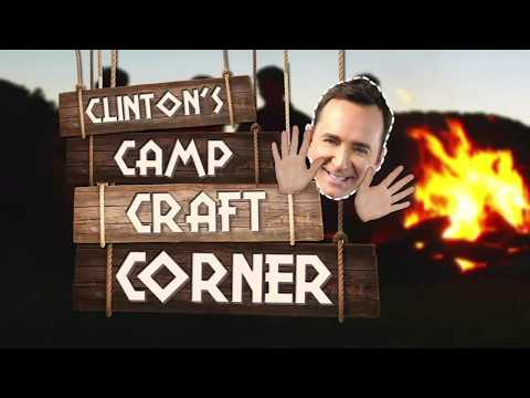 Clinton's Camp Craft Corner on The Chew!