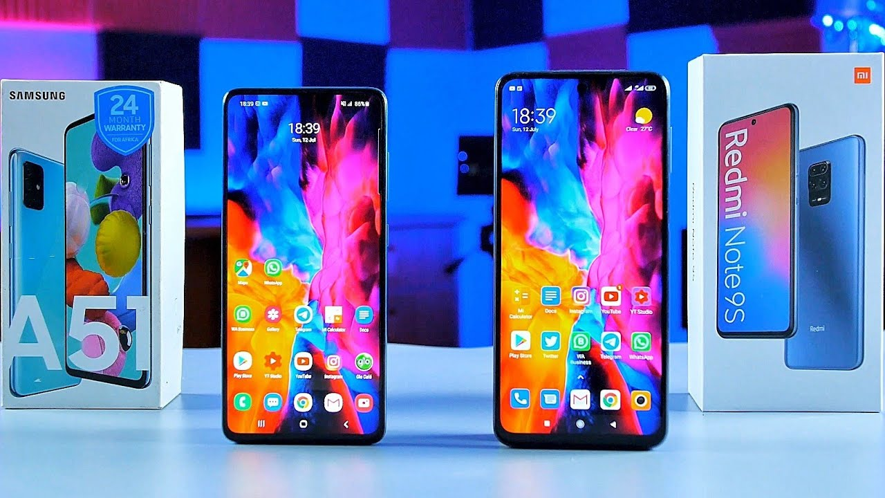 Redmi Note9s vs Samsung A51 | Build Quality, Performance, Camera and Battery comparison