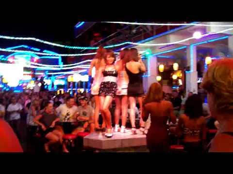 Ladyboys dancing in Bangla Road Phuket - YouTube