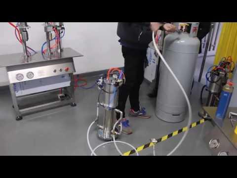 operation video for PU foam filling machine