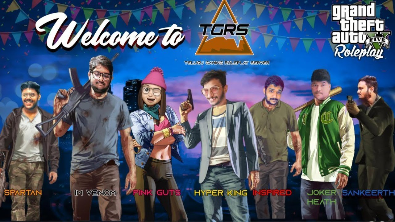 Gta 5 Role Play Live Hyper King Telugu Gamer live stream #hyperkingtelugugamer