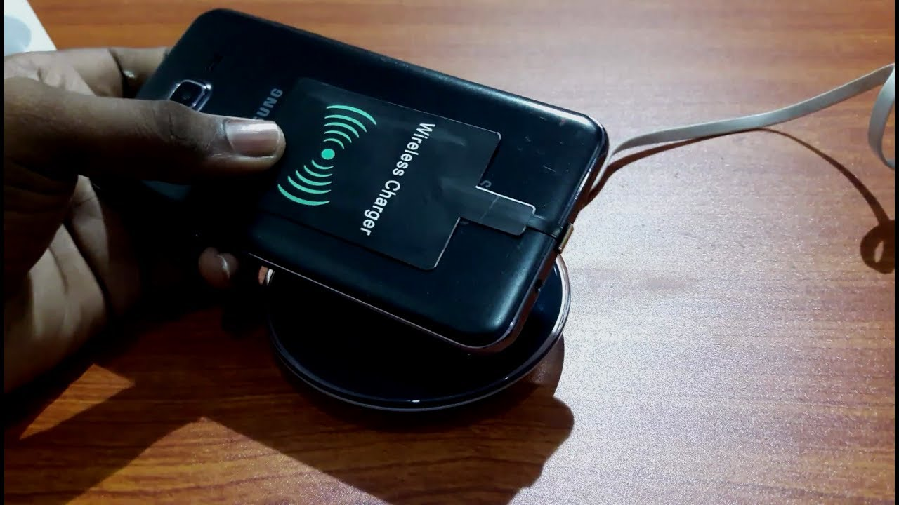how to turn any phone into a wireless charging phone techtank youtube. Black Bedroom Furniture Sets. Home Design Ideas