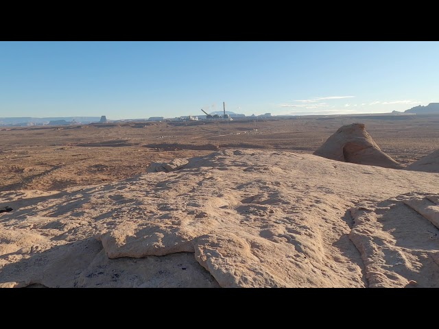 Navajo Generating Station Stacks Demolition