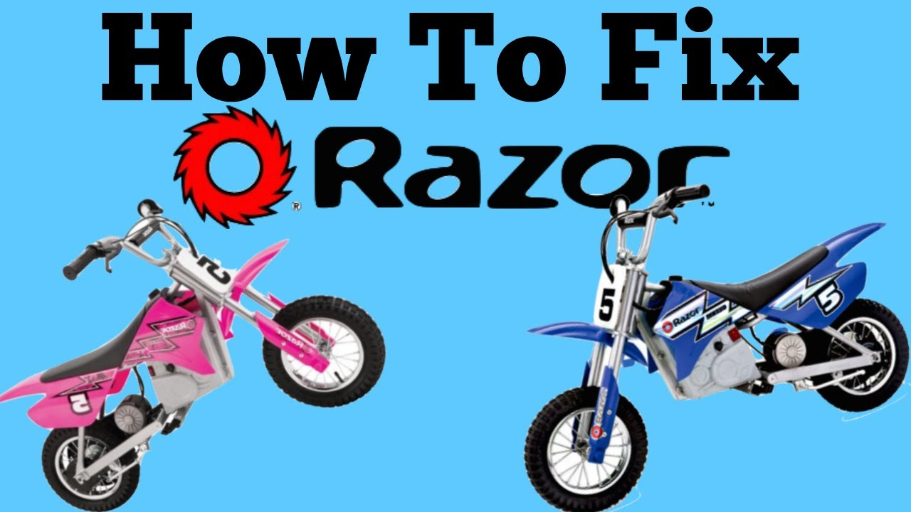 hight resolution of diy how to fix razor mx350 that doesn t run