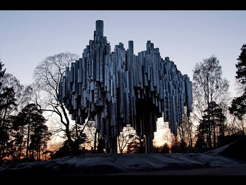 Sibelius Monument and a drone, Helsinki 2012 [CC]