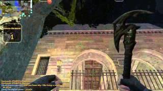 Играю на [Зомби-Побег] в Counter-Strike Nexon: Zombies