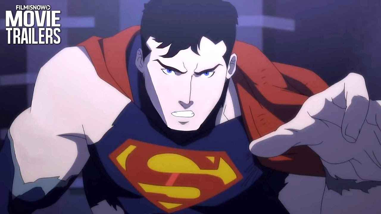 THE DEATH OF SUPERMAN Trailer NEW (2018) - DC Animation